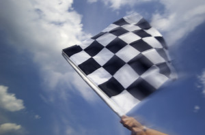 Waving the Checkered Flag