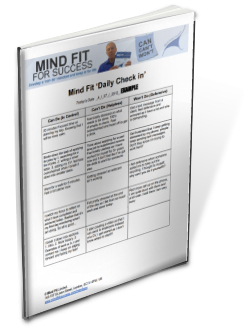 Mind Fit Daily Check in.